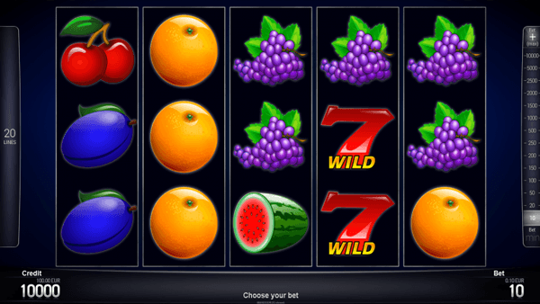 Blazing Fruits Pro 20