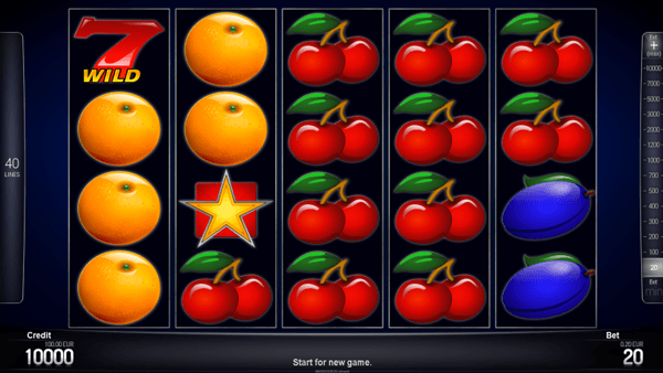 Blazing Fruits Pro 40