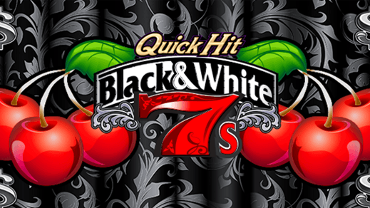 Quick Hit Platinum Black & White 7s Wild Jackpot