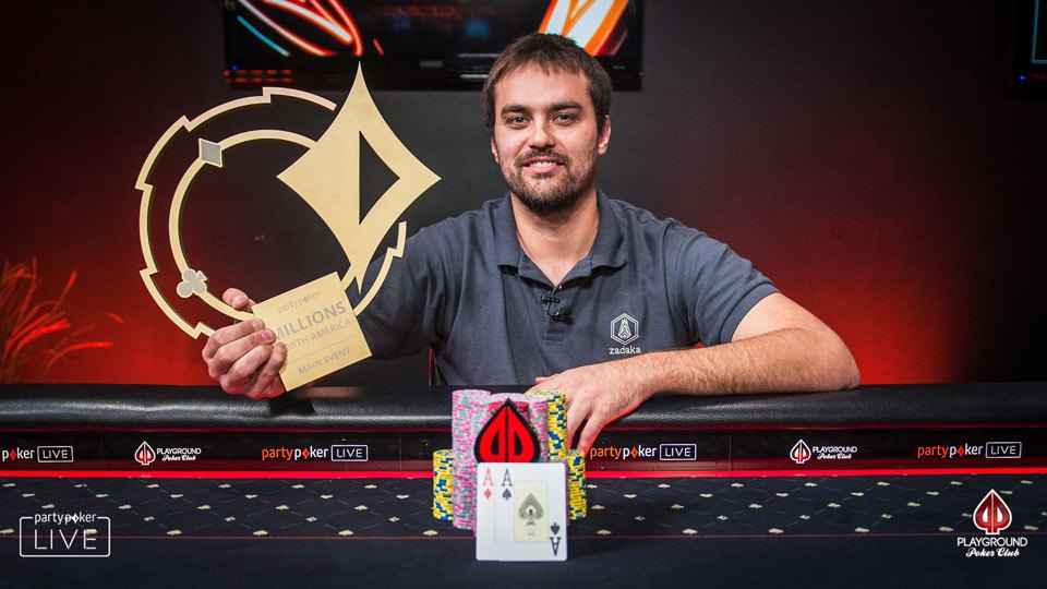MILLIONS North America Main Event winner