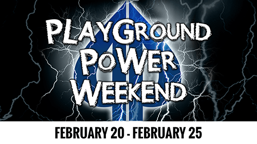 playground power weekend February 2019