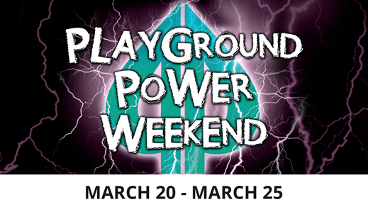 playground power weekend March 2019