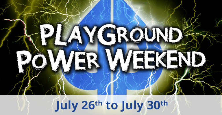 Playground Power Weekend July 2018