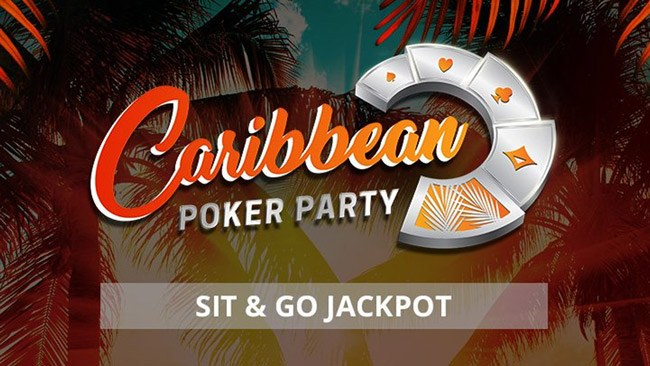 partypoker Caribbean Poker Party Sit & Go Jackpot Promotions