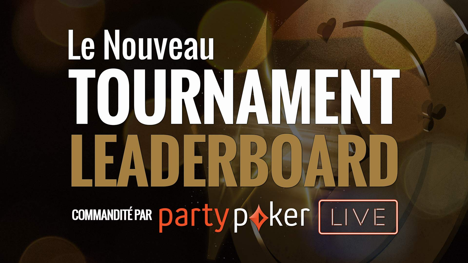 Playground Poker Club Tournament Leaderboard