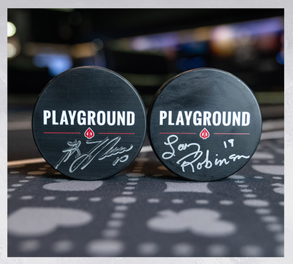 500 pucks giveaway Promotions