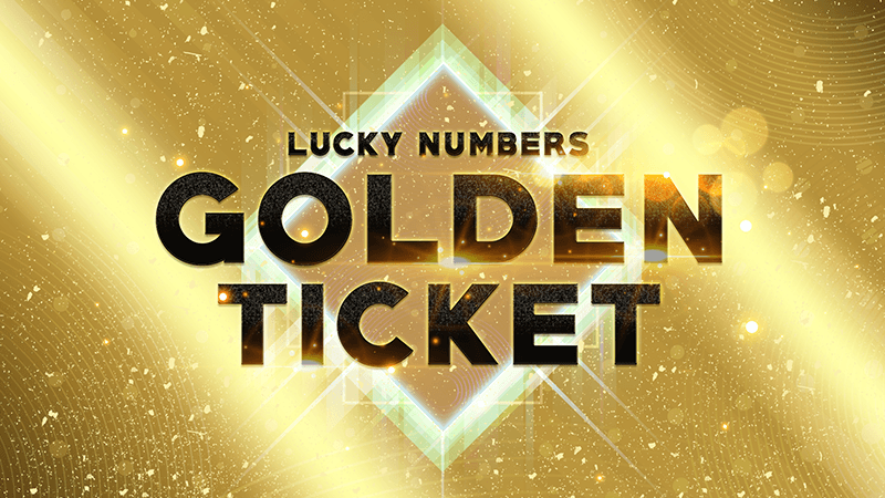 Lucky Numbers Golden Ticket