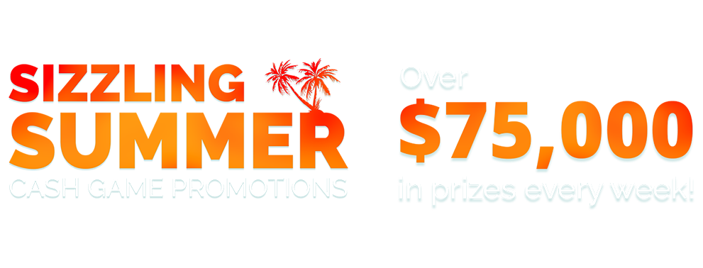 Sizzling Summer cash game promotions